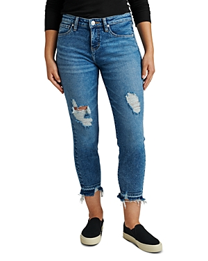 Carter Girlfriend Jeans in Savannah
