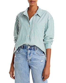 Pistola - Millie Striped Cotton Shirt