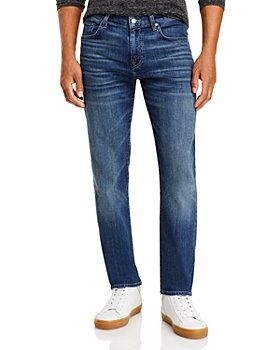7 For All Mankind - AirWeft Denim Slim Fit Jeans in Flash