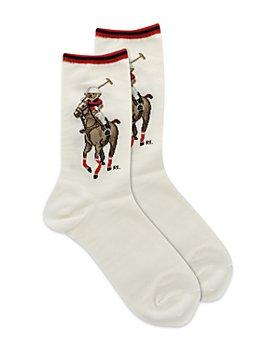 Ralph Lauren - Polo Bear Match Crew Socks