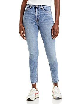 rag & bone - Nina High Rise Ankle Skinny Jeans in Norwalk