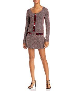 AQUA - Tweed Top & Mini Skirt - 100% Exclusive
