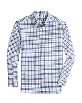 Vineyard Vines - On-The-Go Stretch Performance brrr° Tattersall Check Classic Fit Button Down Shirt