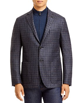 Corneliani - Check Removable Bib Sport Coat