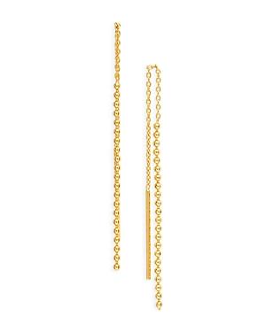 Ball Chain Threader Earrings