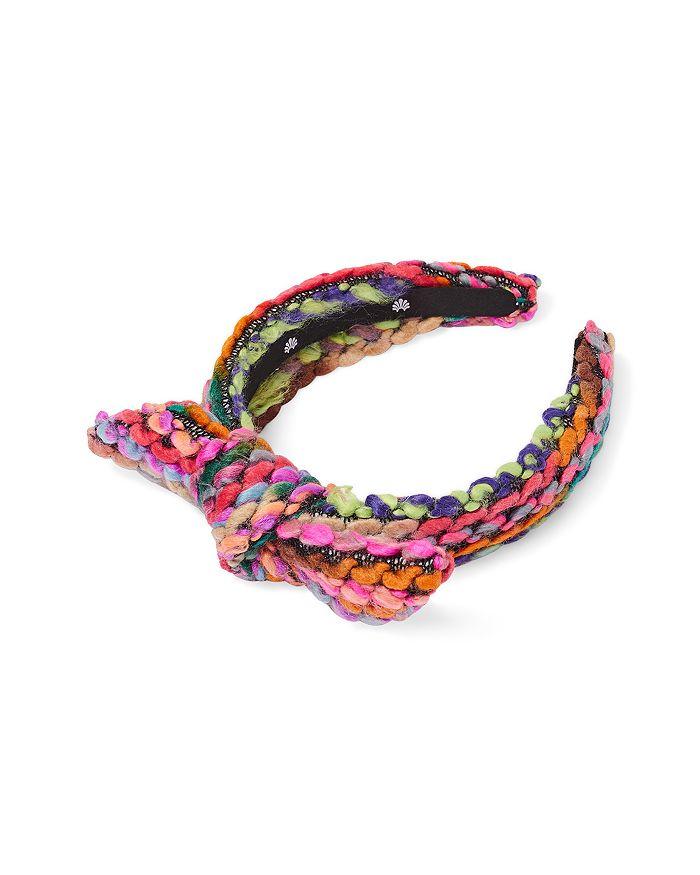 Lele Sadoughi - Girls' Colorful Knit Bow Headband