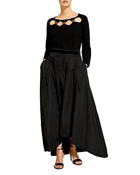 Marina Rinaldi - Amber Embellished Cutout Sweater