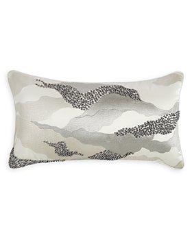 "Hudson Park Collection - Marble Wave Decorative Pillow, 12"" x 22"" - 100% Exclusive"