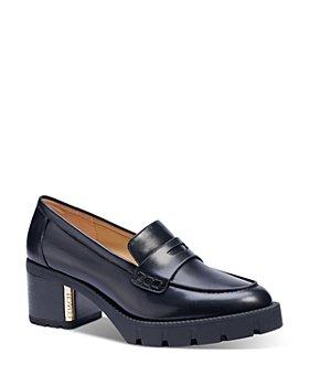 COACH - Women's Cora Block Heel Loafers