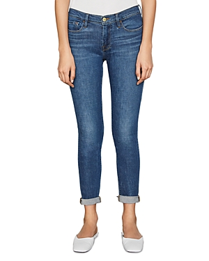Frame Le Garcon Skinny Jeans in Clint