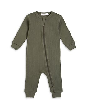FIRSTS by petit lem - Unisex Ribbed Coverall - Baby