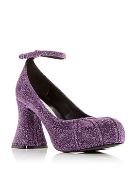 Stella McCartney - Women's Groove Ankle Strap Pumps