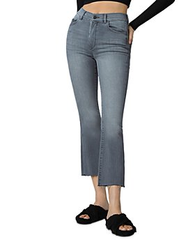 DL1961 - Bridget High Rise Cropped Bootcut Jeans in Overcast Rain