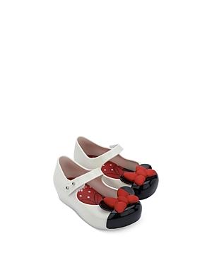 Mini Melissa Girls' Mini Mickey Mouse Flats - Walker, Toddler