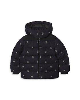 Burberry - Boys' Koby Star & Monogram Denim Puffer Jacket - Little Kid, Big Kid