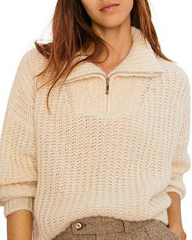 ba&sh - Mock Neck Sweater
