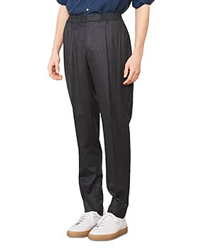 Officine Générale - Drew Worsted Wool Pleated Regular Fit Pants