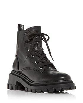 SCHUTZ - Women's Orly Platform Block Heel Combat Boots