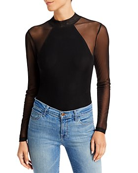 AQUA - Mesh Sleeve Bodysuit - 100% Exclusive