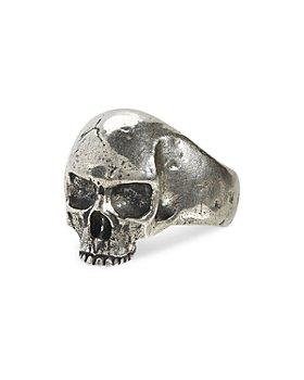 John Varvatos Collection - Men's Sterling Silver Skull Statement Ring