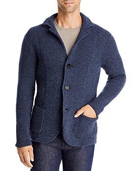 Maurizio Baldassari - Brenta Merino Wool Knit Sweater Jacket