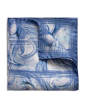 Eton - Motif Print Pocket Square