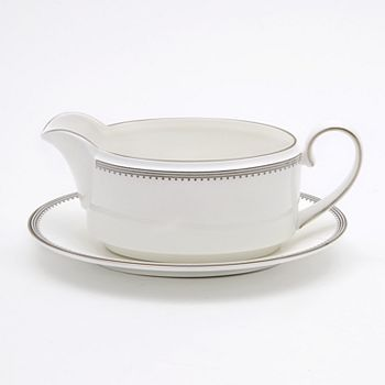 "Vera Wang - for Wedgwood ""Grosgrain"" Gravy Stand"
