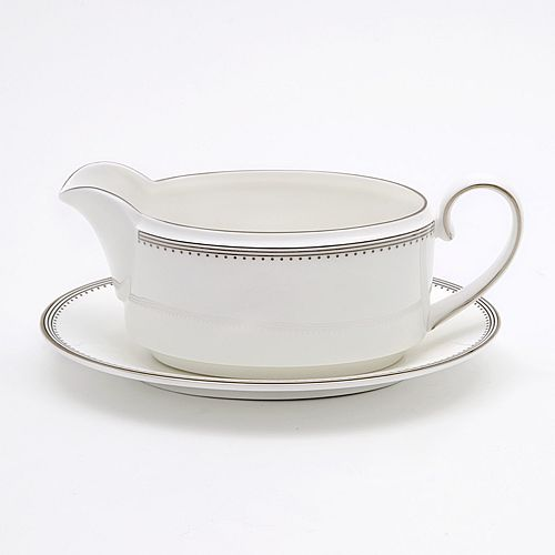 "Vera Wang - for Wedgwood ""Grosgrain"" Gravy Boat"