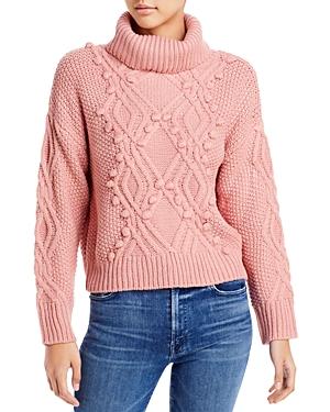 Cliche Pom Pom Turtleneck Sweater (62% off)