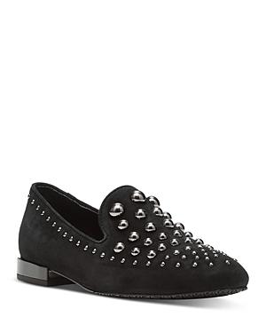 Women's Studded Loafer Flats