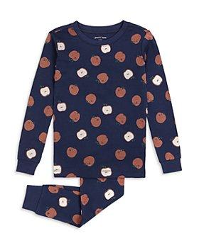 petit lem - Unisex Cotton Apple Pajama Set - Little Kid, Big Kid