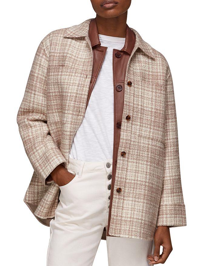 Whistles - Emmie Plaid Shirt Jacket