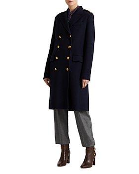 Ralph Lauren - Double Breasted Twill Coat