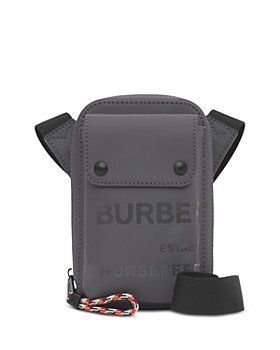 Burberry - Horseferry Print Coated Canvas Crossbody Pouch