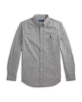 Ralph Lauren - Boys' Buffalo Check Cotton Twill Shirt - Little Kid, Big Kid