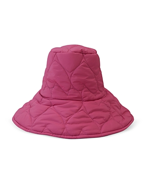 Quilted Heart Reversible Hat