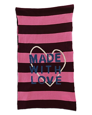 Made With Love Striped Cashmere Scarf