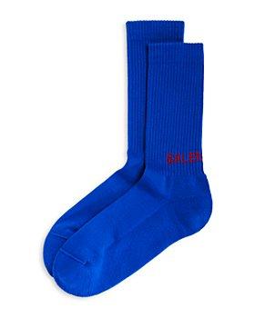 Balenciaga - Ribbed Logo Socks