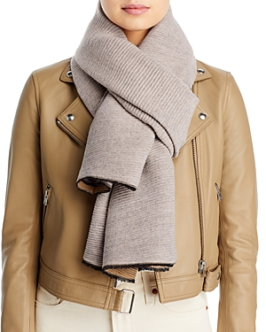 Reversible Lightweight Pleated Scarf