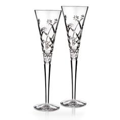 Waterford Wishes Believe Champagne Flute, Pair - Bloomingdale's Registry_0