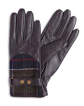 Barbour - Dee Tartan Gloves