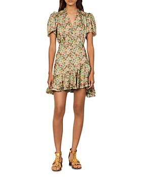 Sandro - Floral Print Dress