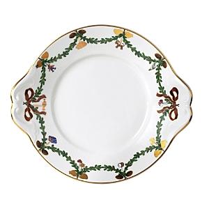 Royal Copenhagen Star Fluted Christmas Dish