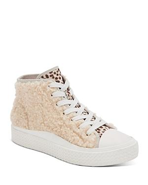 Women's Veola Plush High Top Sneakers