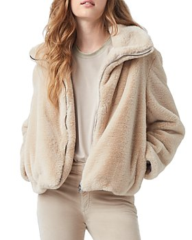 FRENCH CONNECTION - Buona Faux Fur Jacket