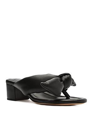 Women's Soft Clarita Puffed Mule Sandals