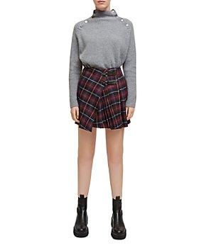 Maje - Jorisa Plaid Skirt