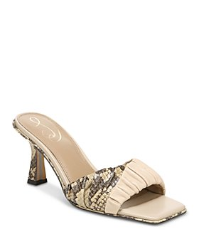 Sam Edelman - Women's Kittie Pleated Slide Sandals