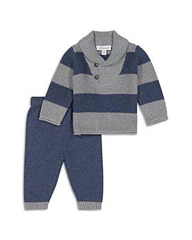 Miniclasix - Boys' Rugby Stripe Sweater Knit Set - Baby