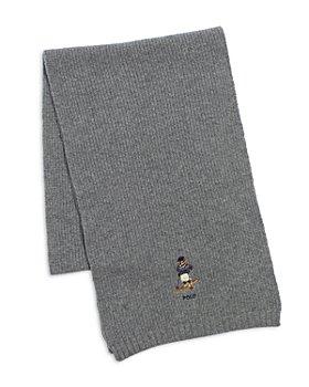 Polo Ralph Lauren - Chunky Ribbed Bear Scarf